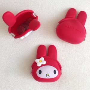 RED My Melody Coin Pouch